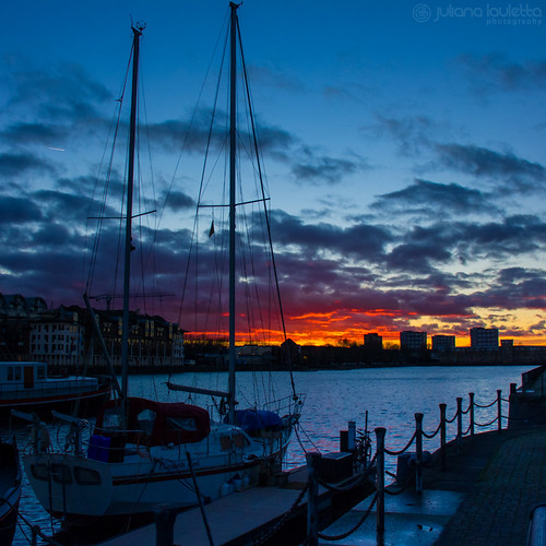 uk sunset sky london water clouds docks boat squareformat colourful project365 365days greenlanddocks 365project julianalauletta thereisalwayssunshineaftertherain