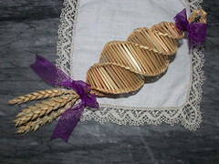 Purple Corn Dolly for Mother's Day (1)