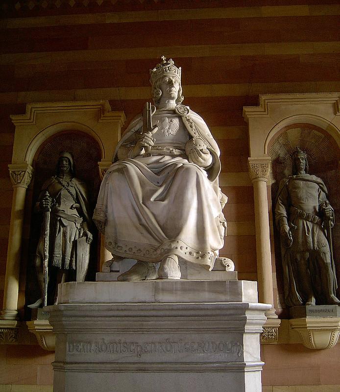 Statue of Rudolf I of Germany in Speyerer Dom