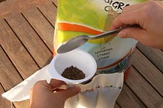 Tuto couture - bouillotte en graines de lin pour les cervicales - Etape 10