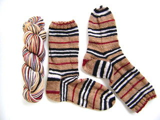 Burberry inspired sock kit available