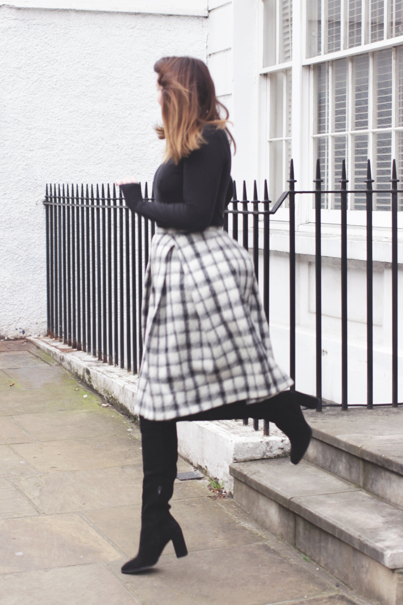 Monochrome Style, Bumpkin betty Uk Fashion Blog