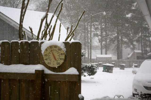 Crazy East Coast Snow Storm!