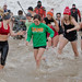 Polar Plunge at North Avenue Beach in Chicago