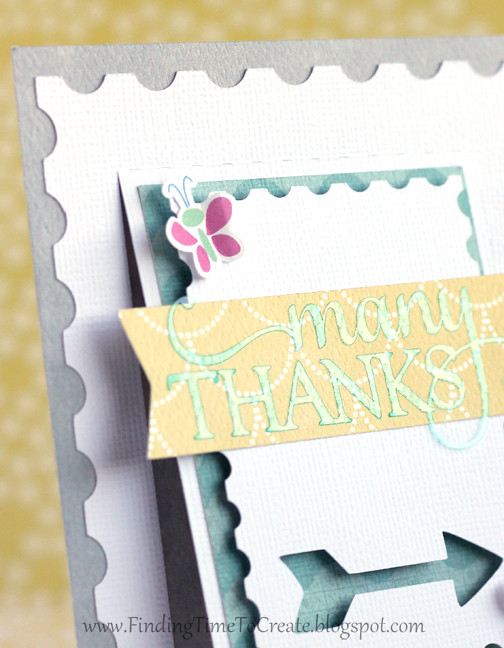 Many Thanks Flap Card_detail