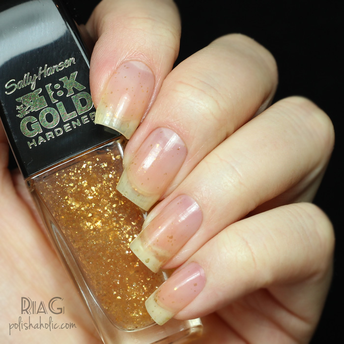 Sally Hansen 18K Gold Hardener – Ria G – Beauty Blog
