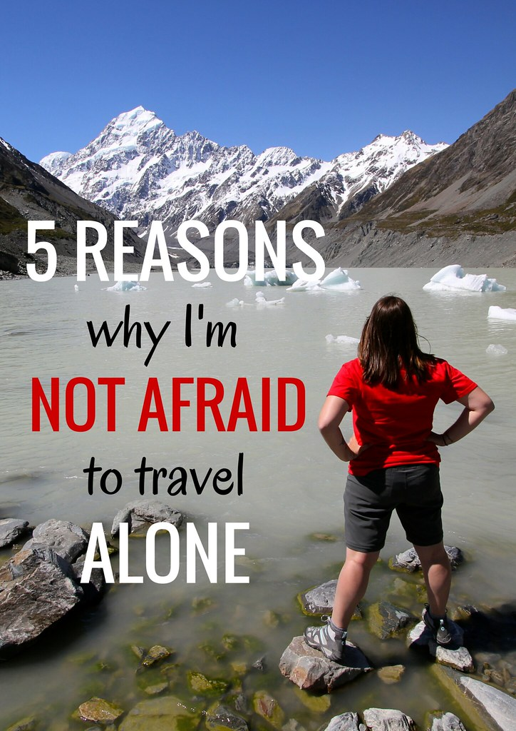 Not afraid to travel solo