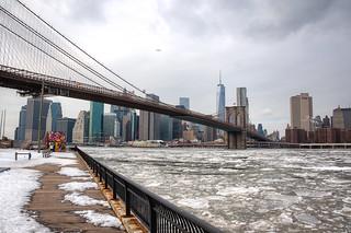 Icy Manhattan