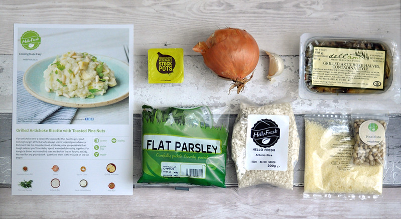 hellofresh veggie box risotto