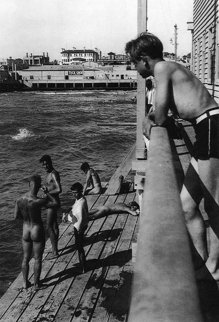 Front St Kilda Baths late 1930s