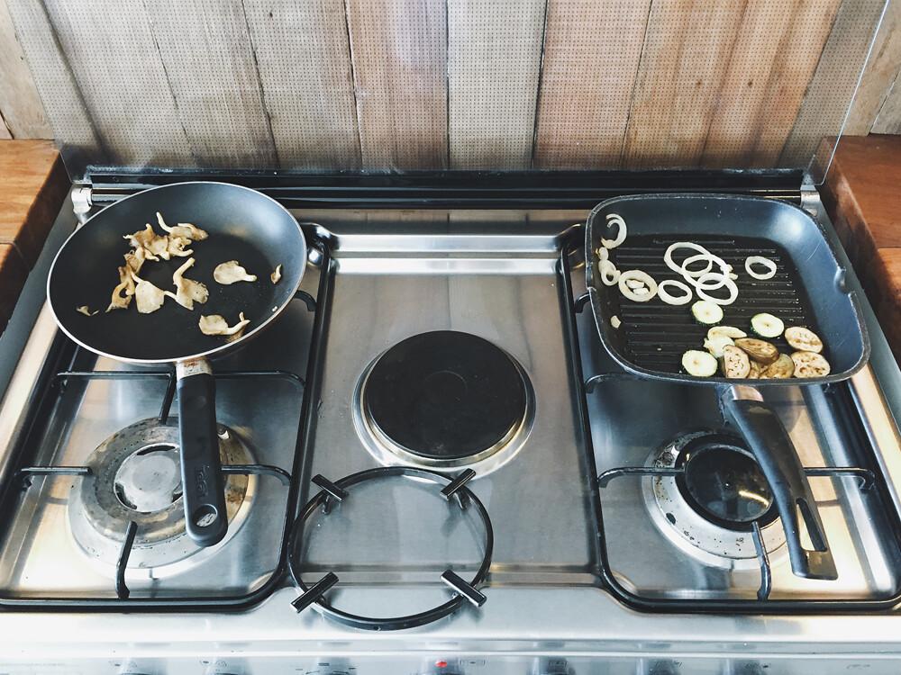 weekend getaway cooking 2