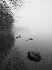 Grasmere in the fog