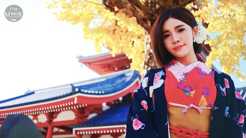 201412 日本東京淺草寺(和服)