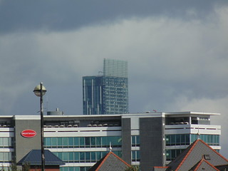 Beetham Tower from MediaCityUK