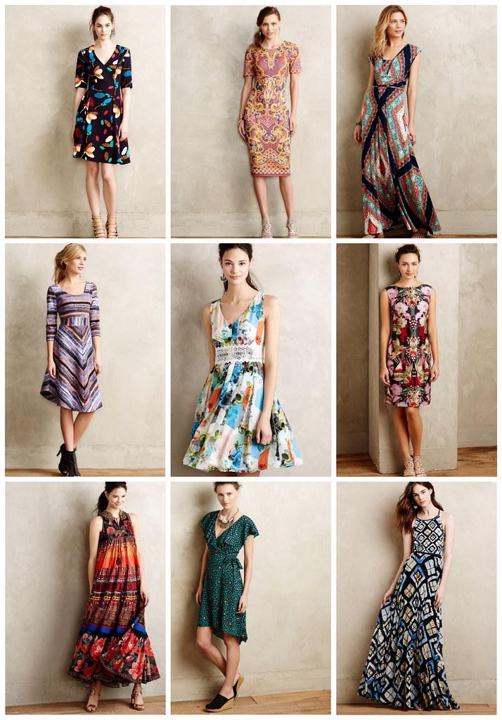 anthro spring dress sale event