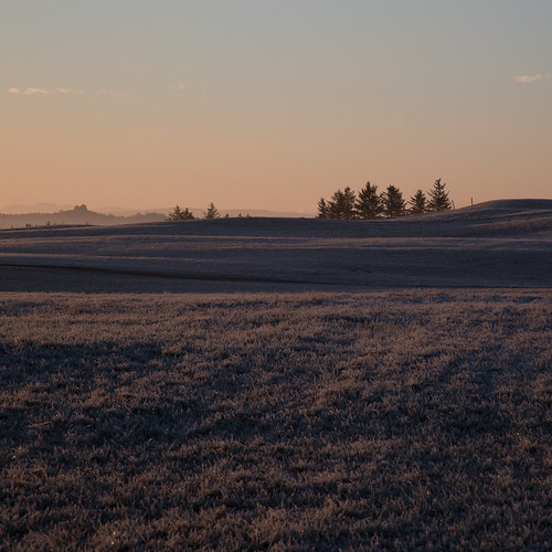 morning sunset field norway sunrise dawn frost frosty fields haugesund karmøy