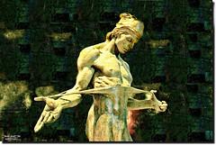 Bronz statue's