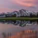 High Sierra Sunset Reflection by Jeffrey Sullivan