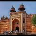 Fatehpur Sikri IND - Jama Masjid Gate 02 by Daniel Mennerich