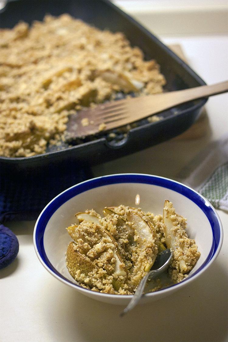 pear crisp bowl 2