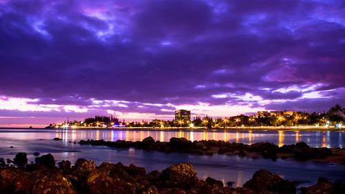 sunset beach stars nouvellecalédonie newcaledonia coucherdesoleil noumea kanaky nouméa