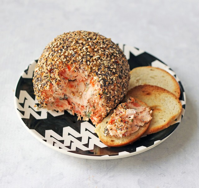 Bagel & Lox Cheese Ball