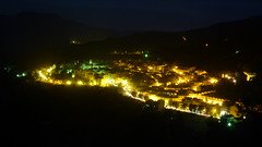 Anochecer en Lanjarón 21-11-2014