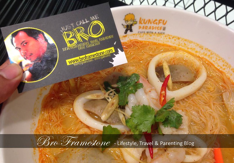 Tom Yam Soup Mee Hoon - Kungfu Bake Rice di Aeon Big Subang Jaya