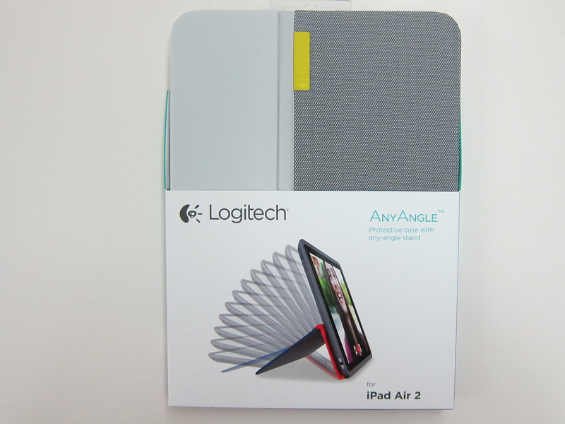 Logitech AnyAngle for iPad Air 2 - Packaging Front