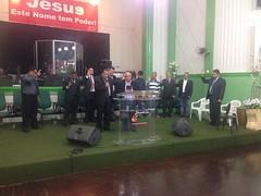Em Ouro Fino, nesta noite de sábado comemorei com o conselho de pastores evangélicos e diversas comunidades o dia da Bíblia.