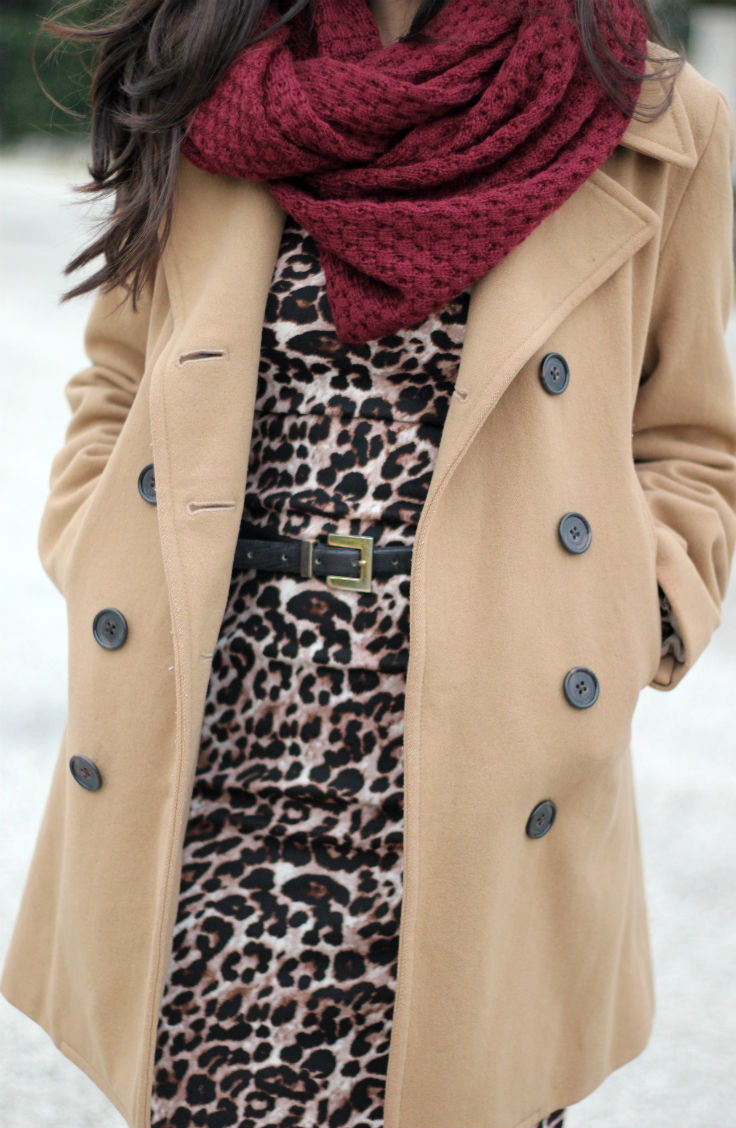 formal winter outfit ideas, jcrew camel coat, long sleeve leopard bodycon dress, austin texas style blogger, austin fashion blogger, austin texas fashion blog