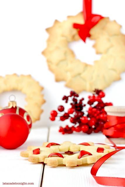 ghirlande di Natale con frollini vaniglia7