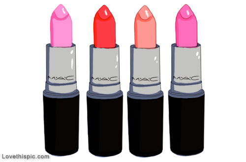 MAC lipstick drawying