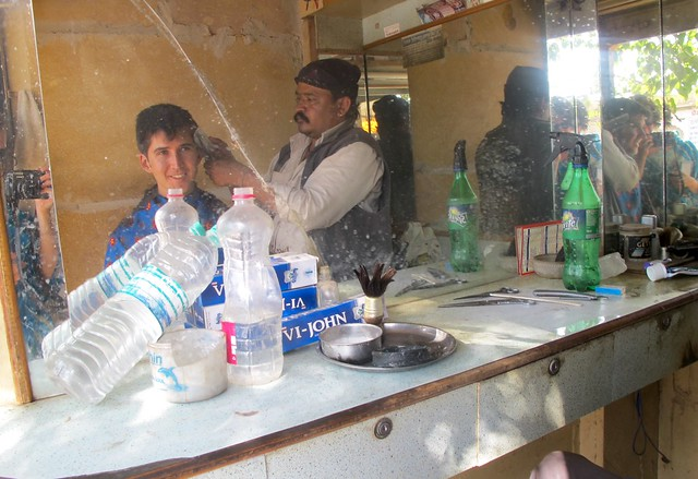 India - Jaisalmer haircut