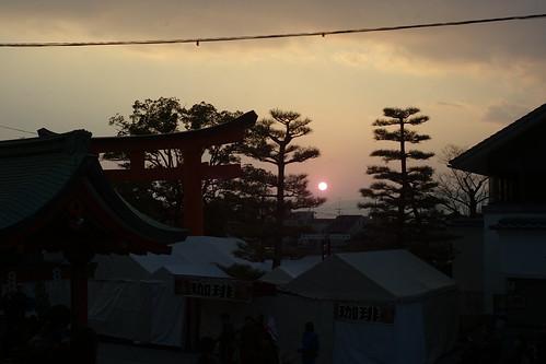 年末の京都