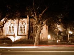 The Presbytery, at night