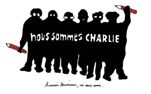Nous sommes Charlie, par Pauline Aubry - Les étudiants du CESAN rendent hommage