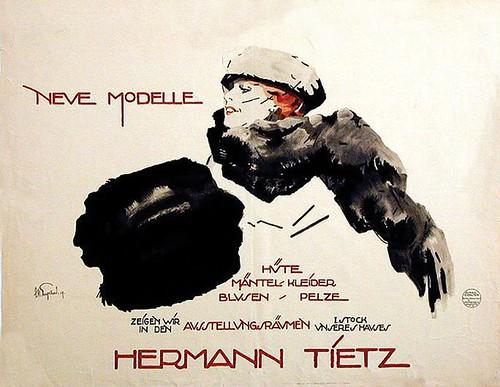 New models / Hermann Tietz (1919)