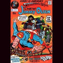Started my semi-annual Fourth World re-read last night with Kirby's weirdly wonderful Jimmy Olsen run. #Comics