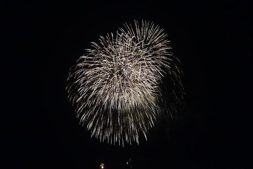 Kumagaya Fireworks_5 熊谷花火大会の写真。 美しい花火。
