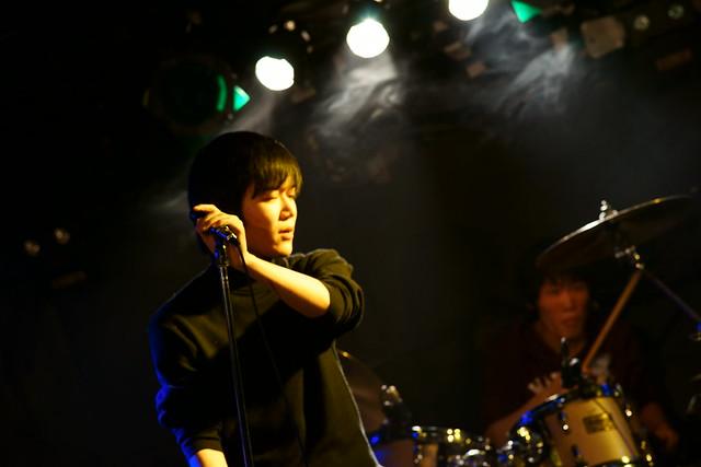中野バンド live at Outbreak, Tokyo, 17 Jan 2015. 047