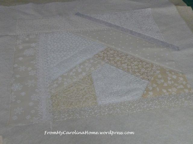 White Mini-Quilt 12
