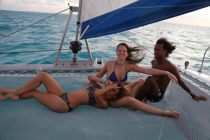 Isla Mujeres and Boat
