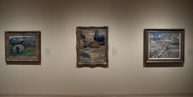 Cézanne, Gauguin, Van Gogh