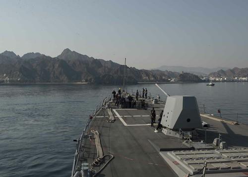 USS Dewey Sailors Tour Muscat