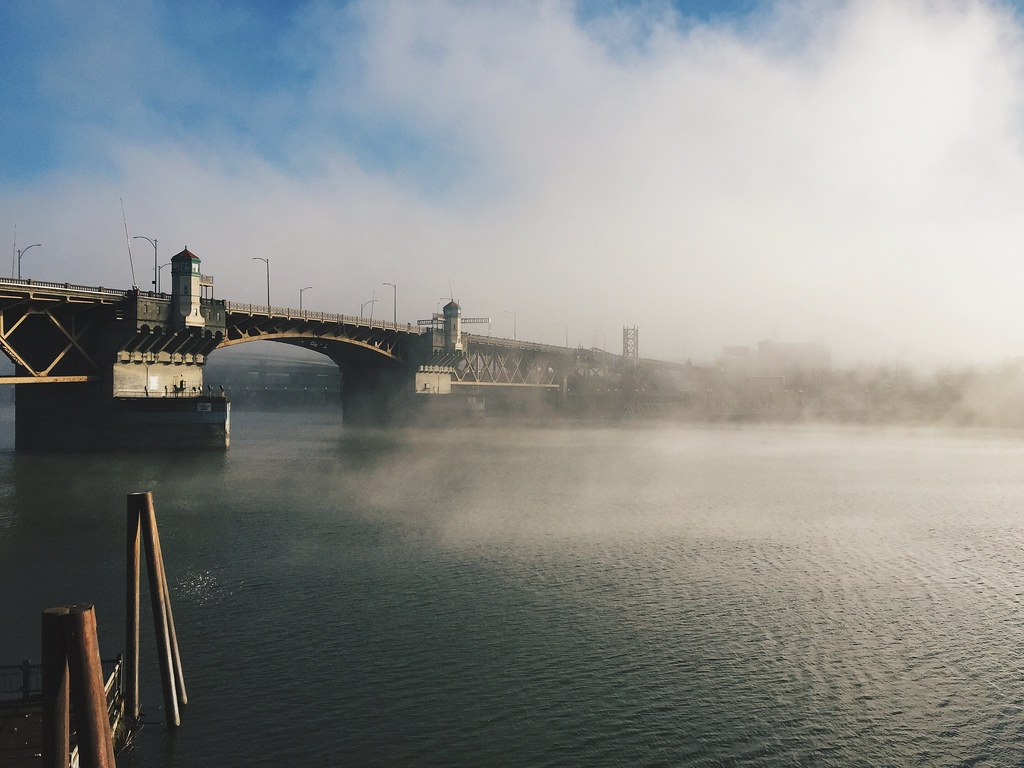 Foggy Morrison Bridge