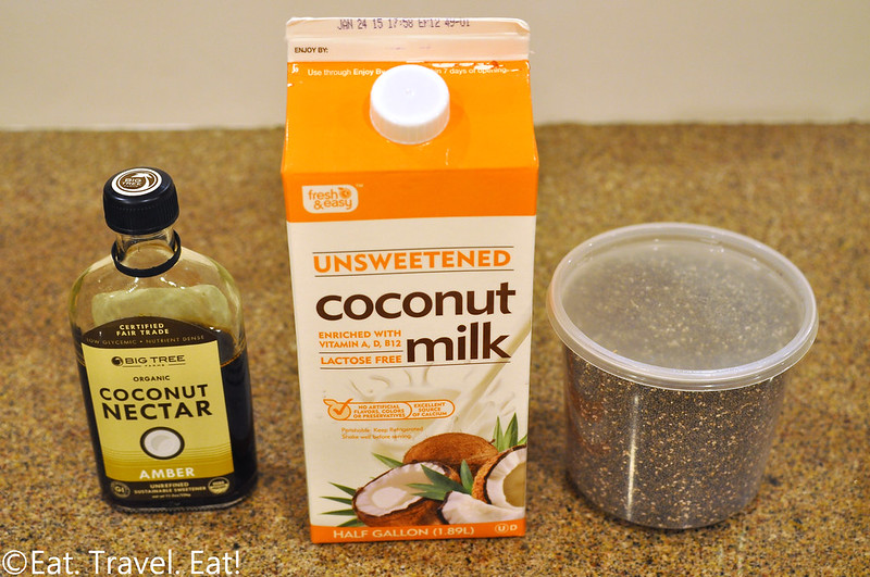 Coconut Chia Pudding: Ingredients