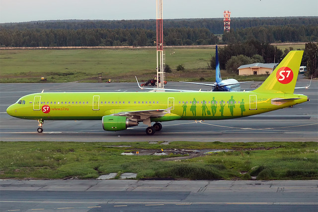S7 Airlines, VQ-BQI, Airbus A321-211