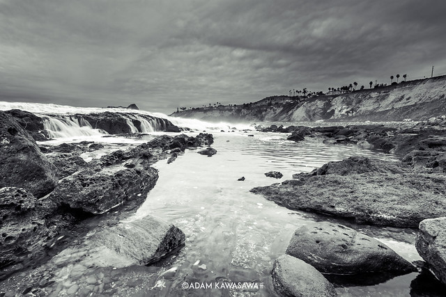Riders on the Storm - Palos Verdes (BW)