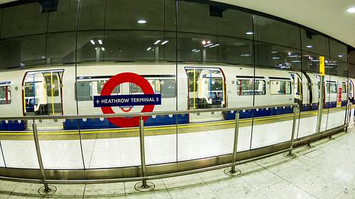 Terminal 5 Tube station